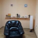 Офис почасово киев Кабинет №3 кресло кожаное ПРЕОБРАЖЕНИЕ