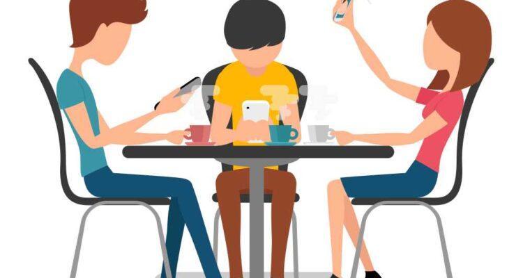 Подростковая зависимость от телефона
