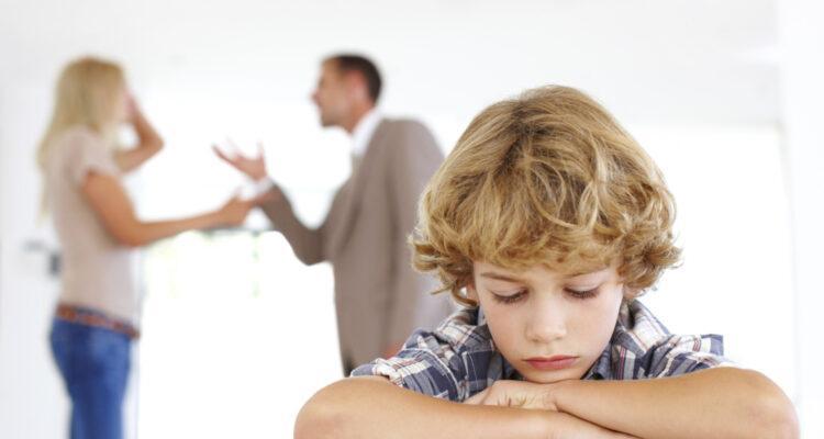 Как помочь детям во время развода